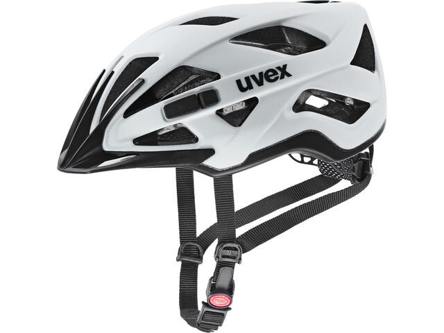 UVEX Active CC Fietshelm, wit/zwart